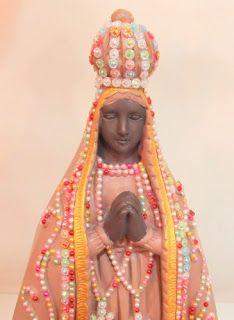 Ateliê Le Mimo: RELIGIOSO  Nossa Senhora Aparecida Peça em gesso