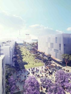 UNSW Alumni Park Competition Entry / ASPECT Studios