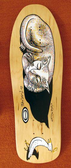 chris miller skateboard deck - Google Search