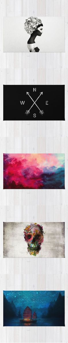 Rugs and millions of other products available atSociety6.com today. Every purchase supports independent art and the artist that created it.
