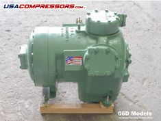 Carrier us compressors quality semi hermetic compressor Multi-Refrigerant Approved High-efficiency motor with warranty sold here at USACOMPRESSORS.
