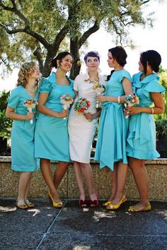 paper bouquets so original!