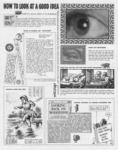 Ad Reinhardt – How to Look. Art Comics