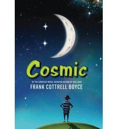 Cosmic - Liam has always felt a bit like he's stuck between two worlds. This is primarily because he's a twelve-year-old kid who looks like he's about thirty. Sometimes it's not so bad, like when his new principal mistakes him for a teacher on the first day of school, or when he convinces a car dealer to let him take a Porsche out on a test drive. But mostly it's just frustrating, being a kid trapped in an adult world.