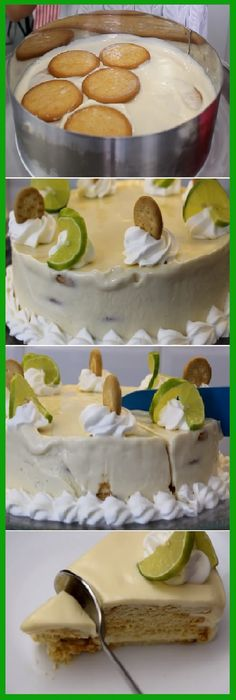 """Yo Quiero A mi me fascina el pay de limón o Carlota de limón """"Postre sin horno.  #pay #paydelimon #limón #carlota #postres #sinhorno #galletas  #tips #pain #bread #breadrecipes #パン #хлеб #brot #pane #crema #relleno #losmejores #cremas #rellenos #cakes #pan #panfrances #panettone #panes #pantone #pan #recetas #recipe #casero #torta #tartas #pastel #nestlecocina #bizcocho #bizcochuelo #tasty #cocina #chocolate   Si te gusta dinos HOLA y dale a Me Gusta MIREN..."""
