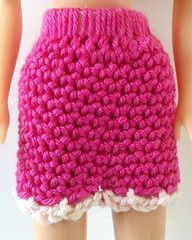 Maggie's Crochet · Doll Skirt - Free Crochet Pattern