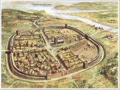 Image result for anglo saxon city