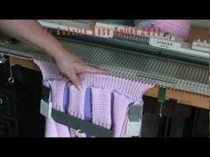 Sideways Knitted Pleated Skirt - YouTube