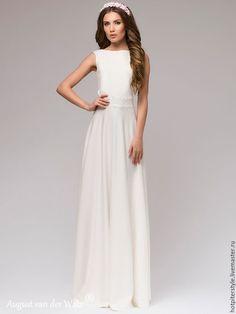 """Купить """"Твоё Очарование"""" платье в макси длине с открытой спиной - цветочный, макси платье"""