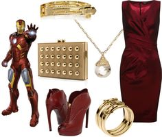 """Superhero Fashion: Ironman"" on Polyvore"