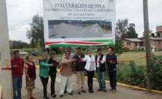 El día de hoy se cumplió un compromiso del Presidente Municipal Ing. J. Salomé Donato Sánchez González al inaugurar la construcción de pavimento de la Calle Mina en su tercera etapa de la Comunidad de la Concepción Jolalpan.  Cabe recordar que es