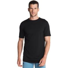 Merino Short Sleeve Crew: Merino is a natural choice for base layers. Gift Suggestions, Sleeve, Mens Tops, Collection, Black, Fashion, Manga, Moda, Black People