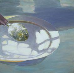 "Saatchi Art Artist Wojtek Herman; Painting, ""breakfast"" #art"