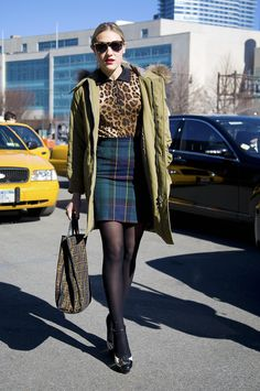 Mia Moretti at Wang, NYC | Street Fashion | Street Peeper | Global Street Fashion and Street Style