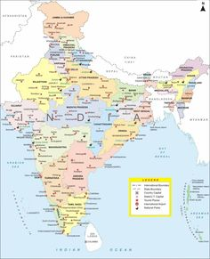 Image Result For India Political Map Blank In A4 Size Full Paper