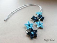 Paper Quilled Necklace, Paper Quilling Jewelry, Quilled Jewelry, Paper Quilling, Paper Quilling Jewelry