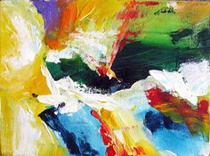 Dan Bunea, living abstract paintings