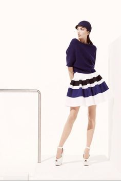 Christian Dior Resort 2013.  I may not adore Dior, but I like it well enough.  Especially this skirt.