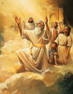 Enoch and His People Are Taken Up to God