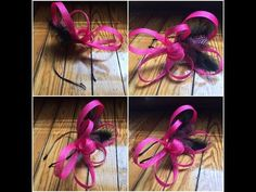 Carolyn Braden's TOIE: How to Make a Fascinator-Under $25! - YouTube