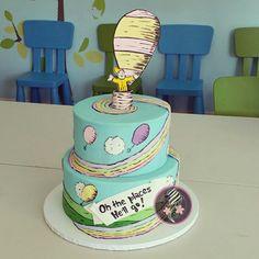 Dr. Seuss 1st Birthday cake