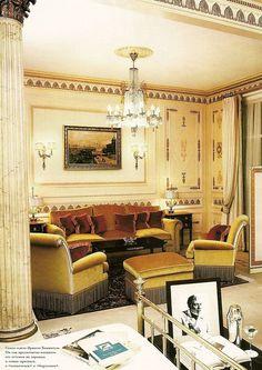 Coco Chanel Suite, Ritz Carlton, Paris #cocochanel #hotelsuite #theritz