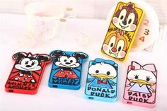 Cute 3D Scrawl Minnie Daisy Chip Silicone Case for HTC Desire 610/816 Back Cover #UnbrandedGeneric