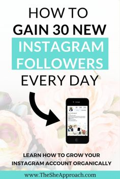 Grow your Instagram account and get 30 new and real followers daily. Social media tips and strategies for bloggers and influencers.