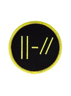 Twenty One Pilots Double Lines Patch Band Patches, Cute Patches, Pin And Patches, Iron On Patches, Jacket Patches, Twenty One Pilots Merch, Twenty One Pilots Albums, Twenty One Pilots Wallpaper, Embroidery Patches