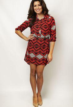 Geometric dress!