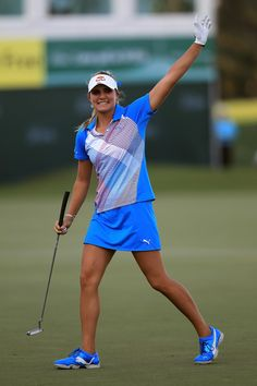 Surprising All About Ladies Golf Ideas. Unutterable All About Ladies Golf Ideas. Girl Golf Outfit, Cute Golf Outfit, Girls Golf, Ladies Golf, Lpga Players, Lexi Thompson, Sexy Golf, Golf Fashion, Ladies Fashion