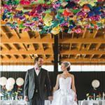 Fun and Colorful Wedding in Savannah | RuffledRuffled
