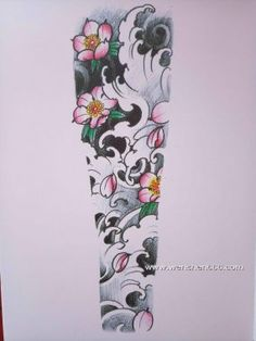 japanese tattoos meaning Japanese Demon Tattoo, Japanese Flower Tattoo, Japanese Tattoo Designs, Japanese Sleeve Tattoos, Best Sleeve Tattoos, Japanese Water Tattoo, Chinese Tattoos, Hand Tattoos, Japan Tattoo Design