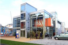 Shipping Container Homes: Hall and Woodhouse - Portishead, Somerset, - Pub 28 shipping containers