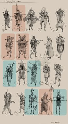 Tano Bonfanti Character Design vol : 3 on Behance