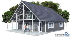 ✔ Small house plan with two floor, three bedrooms, affordable building budget, covered terrace, small building area.
