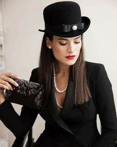 Surround yourself with beauty. Female Pleasure, Black Evening Dresses, Bellisima, Hats For Women, Riding Helmets, Cowboy Hats, Black Women, Beautiful Women, Gowns