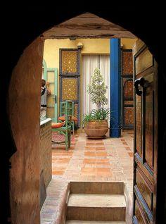 Riad, Morocco