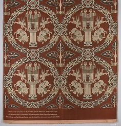 Textile Fragment Reproduction Date: early 7th century Geography: Syria Culture: Islamic Medium: Silk; serge weave, brocaded Accession Number: 09.50.2764
