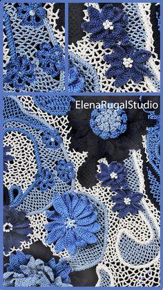 Irish Crochet, Crochet Lace, Irish Lace, Simple Designs, Needlework, Crochet Patterns, Videos, Unique, Youtube