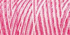 Iris Nylon Crochet Thread Pinks Print Size 2 300yds