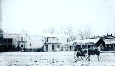 Well, it's not a white Christmas in Bexar County this year, but here's The Alamo on a rare snowy day in San Antonio in the late 1800s.⠀ ⠀ Have a wonderful day, everyone.⠀ ⠀ #MerryChristmas #RememberTheAlamo #xmas #BexarCounty