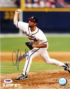 JOHN SMOLTZ autograph 8 x 10 photo psa/dna Braves . $75.00. This is an autographed JOHN SMOLTZ  8x10 photo. Signed in blue sharpie. Photo is authenticated by PSA/DNA. Comes with a PSA/DNA sticker on the photo and a PSA/DNA basic cert stating the photo is authentic.  Please see scan.