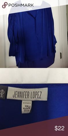 Jennifer Lopez Top size 3x Jennifer Lopez Top size 3x Jennifer Lopez Tops Blouses