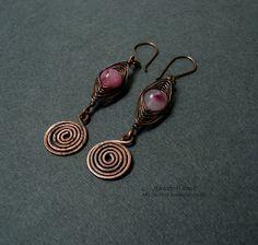 Fradany: Tutorial: Earrings Spiral