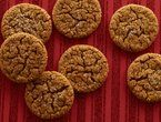 Incredibly Crisp Gingersnaps - cooked them for 15 mins.  Try 10 mins next time to make them a bit chewy.