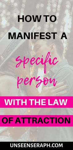 Manifest a specific person with the law of attraction! This guide has everything you need to manifest a specific person with Neville Goddard techniques! Manifestation Journal, Manifestation Law Of Attraction, Law Of Attraction Tips, Flirty Questions, Signs From The Universe, Neville Goddard, Controversial Topics, Manifesting Money, Bad Memories