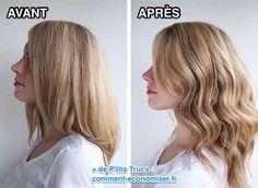 comment faire de belles boucles sur des cheveux raides sans fer à friser