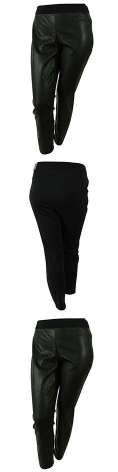d51bc463648 Alfani Women s Plus Size Faux Leather Snakeskin Ultra Skinny Pants 24w Black