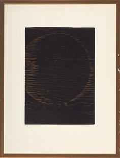 Anna-Eva Bergman, tresnitt 1979, planetfragment